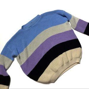 ASOS daisy street striped sweater